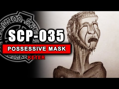 SCP-035 illustrated (The Possessive Mask)
