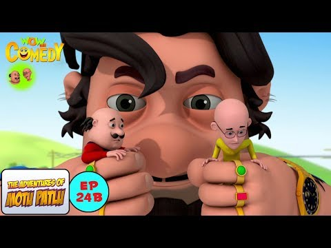 Big John - Motu Patlu in Hindi -  3D Animated cartoon series for kids  - As on Nickelodeon thumbnail