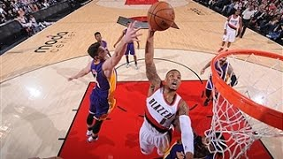 Lillard Scores 39 to Rally Blazers Past Lakers