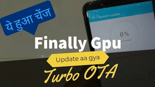 Gpu turbo OTA update released for honor 7x | call recording | party mode | honor club | sonic runner