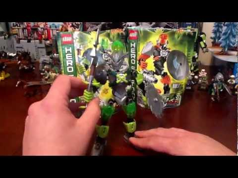Lego Hero Factory 2013 Brain Attack Breez Figure Set # 44006 Review
