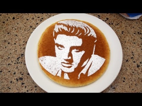 How-To Put a Picture on a Pancake - PITW Video