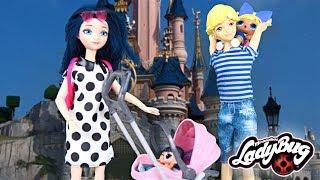 Miraculous Family à Disneyland Paris! Miraculous LOL Family in Disneyland