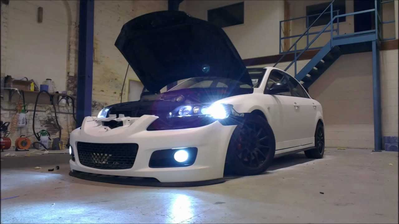 Plasti Dip Mazda 6 Mps Stealth Cotings Matte White Youtube