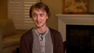 The Apparition - The Apparition Set Interview ~ Tom Felton