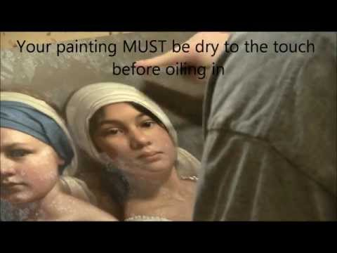 Oil Painting Glazing Medium Recipe