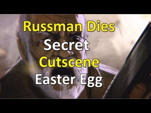 Black Ops 2 Zombies: Russman Dies Secret Cutscene Easter Egg