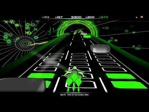 Audiosurf  Sam B - Who Do You Voodoo, Bitch video