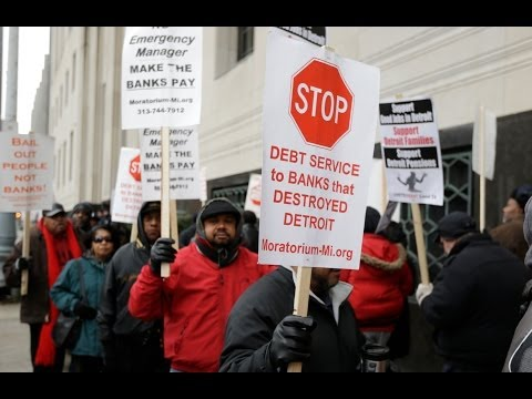 Detroit Bankruptcy: Wall Street, Lost Revenues Forced Decline, But City Pensioners to Pay the Costs