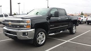 2015 CHEVROLET SILVERADO 2500 HD CREW CAB LTZ 4X4 6.6 DURAMAX  ALL NEW   FOR SALE 855.507.8520