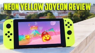 Nintendo Switch NEON Yellow Joy Con Review + Unboxing