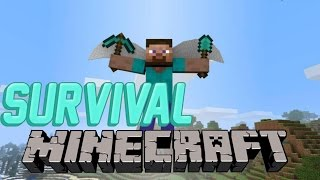 COMO VOLAR EN MINECRAFT SURVIVAL