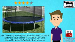 [Review & SALE] Skywalker Trampolines 12-Feet Round Trampoline