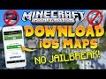 How To INSTALL MAPS ADDONS On IOS No Jailbreak No Computer MCPE 1 1 X mp3