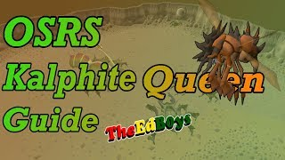 OSRS KQ Solo Guide | Old School Runescape Kalphite Queen Guide