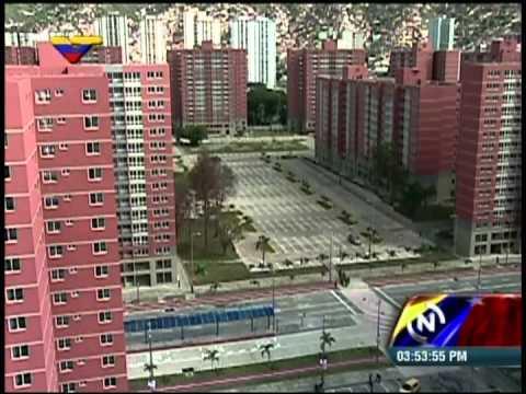 Presidentes Nicolás Maduro y Xi Jinping (Venezuela y China) visitan complejo habitacional
