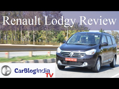 Renault Lodgy India Review And Test Drive Video