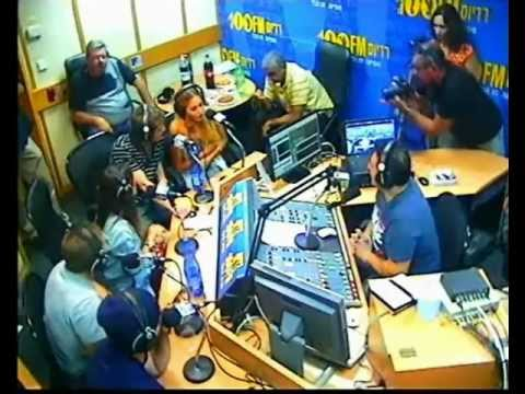 Teen Angels radio 100fm Israel (Oct 2011)