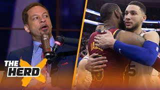 Chris Broussard on the chances Ben Simmons comes to LA, Magic signing LeBron | NBA | THE HERD
