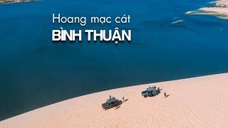 Hoang mạc cát/ Bình Thuận/ Flycam