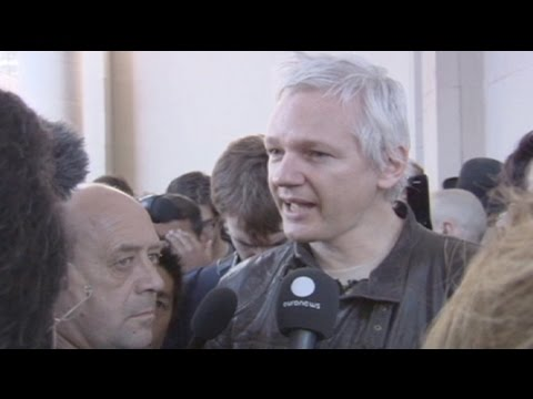 Occupy London: Assange nutzte die Proteste in London als Bhne (16.10.2011)