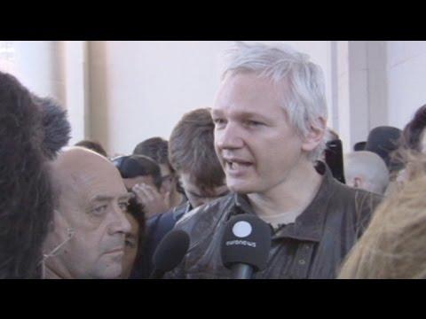Occupy London: Assange nutzte die Proteste in London als Bühne (16.10.2011)
