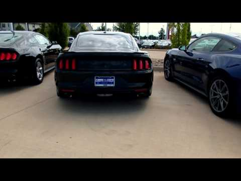 727 HP mustang cold start and engine revs