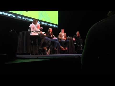 """Period Acting"" panel with John Slattery, Jennifer Ehle, Dan Stevens and Cherry Jones"