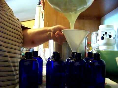 Essential Soap: How to Make Goats Milk Lotion, Large Batch
