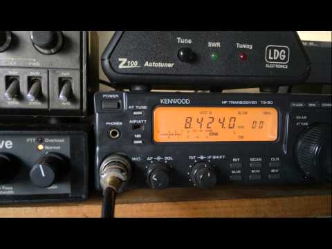 SVO Olympia Radio (Athens, Greece) - DE marker - 8424 kHz (CW)