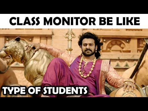 Types of Students: On bollywood vine || Bollywood style ft. Bahubali, Akshay kumar and a lot more...
