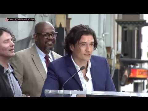 ORLANDO BLOOM HONORED WITH HOLLYWOOD WALK F FAME STAR