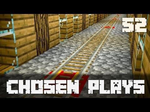 Chosen Plays Minecraft 1.13 Ep. 52 Underwater Minecart Track