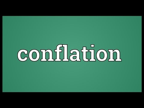 Conflation Meaning