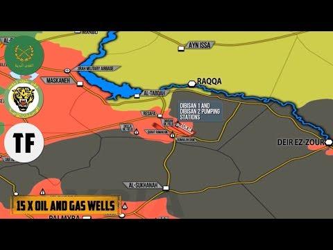 20 июля 2017. Военная обстановка в Сирии. Контратаки ИГИЛ на сирийскую армию. Русский перевод.