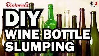 DIY Melted Wine Bottle Tray, Corinne VS Pin #19