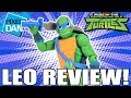 Leonardo Rise of the TMNT Ninja Turtles Action Figure Video Review thumbnail