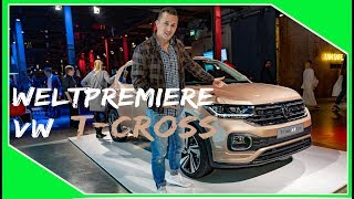 VW T-Cross R line Welt Premiere in Amsterdam Simon Motorsport