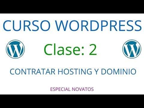 Curso de Wordpress Novatos | Clase 2 | Cómo Contratar Hosting y Dominio