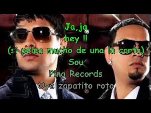 Karaoke Zapatito Roto Plan B ft Tego Calderon  (Litzha)