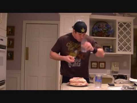 Competitive Eating Thanksgiving Turkey Championship- Practice Run
