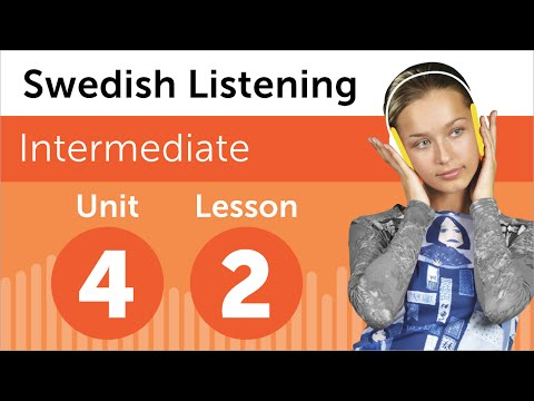 Swedish Listening Practice - Talking About a Photo in Swedish