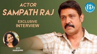 Actor Sampath Raj Exclusive Interview    Talking Movies With iDream #328