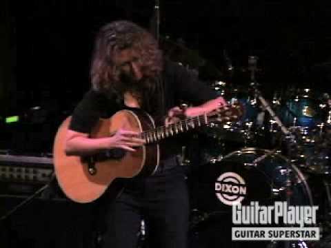 Vicki Genfan Wins Guitar Player's Guitar Superstar 2008