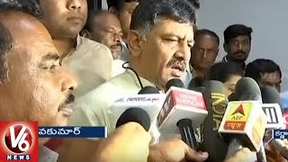 BJP Can't Force Or Blackmail Us, Says Congress DK Shivakumar