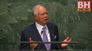 Ucapan PM Najib di Perhimpunan Agung PBB - Bahagian 1