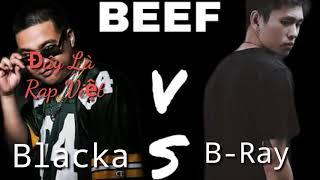 『BEEF』 Đây là Rap Việt - Blacka   Calm Down Frestyle - B Ray   Round 3