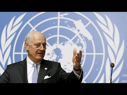 "UN envoy urges US, Russia to salvage ""barely alive"" Syrian truce"