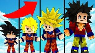 NẾU GOKU CÓ CUỘC SỐNG TRONG MINECRAFT !!! (Minecraft Người Trông Trẻ)