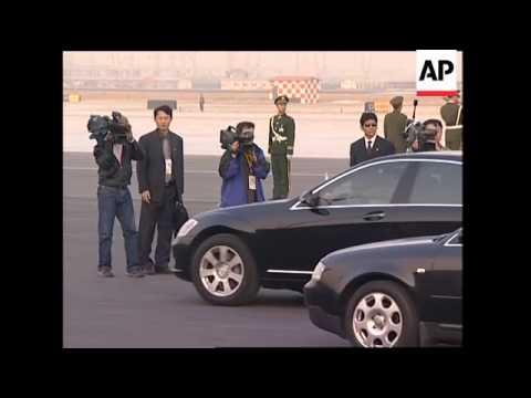 Angola and Somalia leaders arrive, Sudanese President meets Hu Jintao